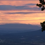 Sunset - Blue Ridge Parkway