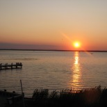 Sunset over Barnegat Bay, HCBC